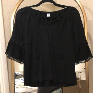 Old navy bell sleeve shirt